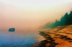 Mysterious Mist (Kalev Vask.) Tags: digital kalevvask postprocessed on1 topazimpression estonia photomanipulation digiart photoart painterly artistic creative summer sea fog