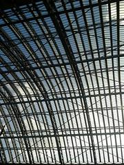 Station Roof. (JamesRannoch) Tags: kingscross london trainstation roof st pancras