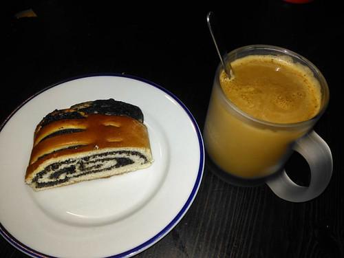 Makovo-kofeinová snídaně 👍😉