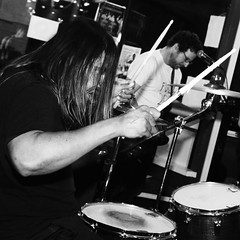 The Pretty Flowers (Casey Lombardo) Tags: livemusic concert concerts concertphotography theprettyflowers prettyflowers punk indie bands punkbands indiebands rock rockshows 4thstreetvine longbeach longbeachca bw bwphotography blackandwhite monochrome monochromatic drums drum drummer drummers drumming drumsticks