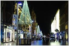 Buchanan Street Christmas lights (Ben.Allison36) Tags: buchanan street lights hand held night shot glasgow scotland