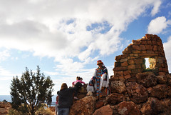 2016 Grand Canyon History Symposium Desert View Watchtower 0476 (Grand Canyon NPS) Tags: grandcanyon historical society 2016symposium desert view watchtower tour hopi artist fred kabotie murals mary colter historic building native american ceremonial dress