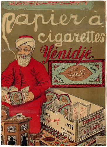 An Ottoman Poster of Rolling Paper
