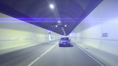 I Have My Eyes Set On You (Sunnnny Lau) Tags: road night lights web tunnel lensflare advert cinematic promotional socialnetworking nissanskylinegtr skylinegtrr34 hindheadtunnel fortyforty sunnylau carclubbed