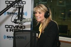 Christie Brinkley stops by the Covino & Rich Show (covinoandrich) Tags: chicago radio model satellite rich broadway christie brinkley siriusxm covino
