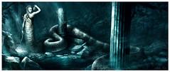 Medusa (Mike Nash Art) Tags: art illustration painting fantasy medusa mythology myth gorgon mikenash