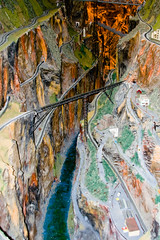 CG544 Canyon Bridges (listentoreason) Tags: usa america canon newjersey model modeltrain unitedstates favorites places diorama northlandz scalemodel modelrailroad hoscale ef28135mmf3556isusm score25 hoscalemodelrailroad