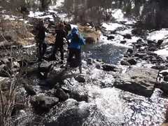 (Obakeneko) Tags: people video vimeo rocks stream crossing hiking walk manual gps ru bunnyears desc  altairepublic canonpowershots90 garmindakota20 ustkoksinskydistrict stay