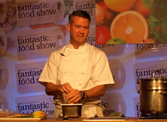 Chef Colin McGurran at Nigel Haworth's Fantastic Food Show - 1 (Tony Worrall Foto) Tags: show uk england food man celebrity cooking make festival fun demo northwest north restaurants tasty eaten blackburn event chef taste venue celeb nigel michelin reviews eatingout foodie asl chefs haworth lancs foodphotography taster celebritychefs 2013tonyworrall nigelhaworthsfantasticfoodshowlancashirefoodfestival