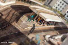 experiencing delays (MHPhotos_) Tags: cardiff trainstation caerdydd commuting trainplatform commuters alwaysarrows