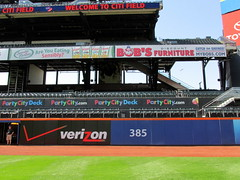 Citi Field, 05/16/13: section 138 and some of the Party Deck as seen from the field (IMG_0887a) (Gary Dunaier) Tags: newyorkcity baseball stadiums queens mets queensborough newyorkmets queensboro ballparks flushing stadia queenscounty citifield