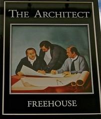 The Architect - Chester (garstonian) Tags: cheshire chester pubs pubsigns
