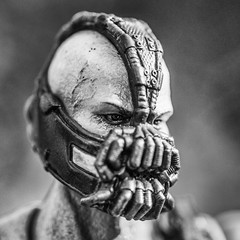 BW-142 Bane Close Up (misterperturbed) Tags: dccomics squareenix bane darkknight playartskai silverefexpro2 darkknightrises