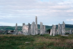 Callanish Stone Circle, Lewis (1996) (Duncan+Gladys) Tags: uk scotland callanish rossandcromarty