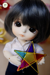 Miniature Star Larntern (Ylang Garden) Tags: star miniature vietnamese traditional larntern