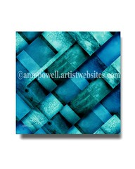 Blue Square Three copyright Ann Powell (annpowellart) Tags: abstract texture mixedmedia abstractart contemporary modernart fineart digitalart large wallart trendy abstracts homedecor nonobjective corporateart walldecor abstractdesign giclee officedecor abstractcollage oklahomaartist modernwallart annpowell oklahomaartists annpowellart largeabstractwallart
