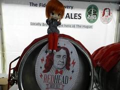 RedHead Red Ale op het BierFestival DenHaag
