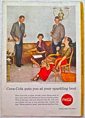 1956 - 1950s Vintage Coca Cola Advertisement From National Geographic Back Page 20 (Christian Montone) Tags: vintage ads advertising coke americana soda cocacola advertisements sodapop vintageads vintageadvert