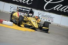 Graham Rahal over the rumble strips in Turn 3 at Detroit (IndyCar Series) Tags: grahamrahal rahallettermanlaniganracing meteringmode3 fnumber8010 focallength300010 isospeedrating160 cameranikond4 chevroletindydualindetroit exposure108000