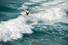Surfing (Jaime Prez) Tags: ocean beach portugal water sport agua surf playa deporte algarve ocano