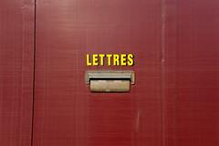 Boîte à lettres du wagon des Postes (zigazou76) Tags: train postes wagon visite lettre centenaire sncf boîte courrier portesouvertes ferroviaire 100ans quatremares sottevillelèsrouen technicentre