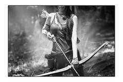 Lara Croft 04 (paololzki) Tags: cosplay laracroft portraiture archer conceptual squareenix tombraider bowandarrow archeologist cosplayphotography paololzki