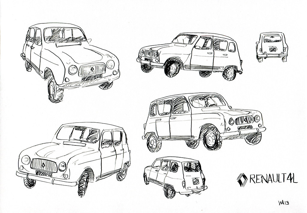 The world 39 s best photos of dessin and renault flickr hive mind - Dessin renault ...