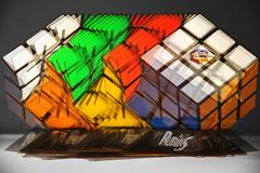 Rubik's Aerobics (LTigers) Tags: colour cube spinning rubiks rubikscube layered d3100