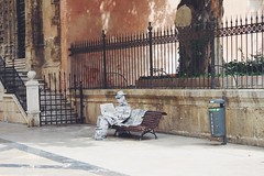 (ssim.ona) Tags: summer man hot love girl canon paper photography photo spain europe artistic malaga edit hola paperman phographer