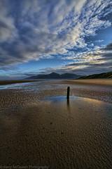 Evening Mournes (bazmcq) Tags: uk ireland sea mountains beach newcastle sand down naturereserve northernireland nationaltrust mourne ulster mournemountains countydown mournes icapture murlough flickraward barrymcqueen