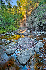 Entrance to Kadunce River canyon-Lovas-4539-P-Edit.jpg (Nathan Lovas Photography) Tags: trees sky usa brown sun green nature water minnesota reflections river outdoors midwest rocks unitedstates outdoor lakes rocky northshore rivers land northamerica mn canyons lakesuperior northwoods freshwater landoutdooroutdoorsnature minnesotamnusanorthamericaunitedstatesmidwest northshorelakesuperiornorthwoods lakesfreshwaterwater