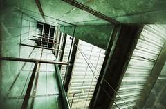Upward Mobility {Explored} (dovetaildw) Tags: nikon elevator shaft grung d7000 snapseed