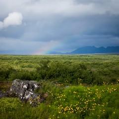 Rainbow (mekanoide) Tags: iceland islandia sland 2013