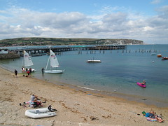 Swanage (Megashorts) Tags: uk england holiday beach pen boats coast pier town seaside south olympus cliffs dorset swanage ep3 mk1 mzd 2013 1442mm ppdcb4