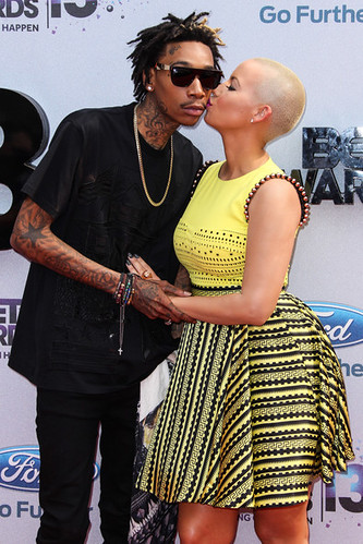 Video Amber Rose & Wiz Khalifa interview with Angie Martinez speaks on getting married , their kid , and Miley Cyrus twerking