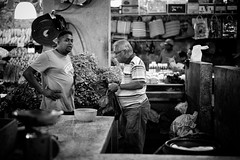 Supplies (stephen cosh) Tags: life street city people blackandwhite bw sepia mono town candid streetphotography rangefinder mauritius reallife humancondition portlouis blackandwhitephotos 50mmsummicron blackwhitephotos leicam9 stephencosh leicammonochrom leicamm