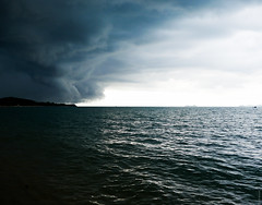 Rising storm on Ko Samui (oli wood) Tags: ocean storm thailand kosamui rainyseason