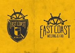 East Coast Welding (Warren Keefe) Tags: logo design welding crest rough brand