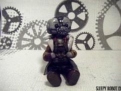 Bane Robot 2 (Sleepy Robot 13) Tags: cute robot diy handmade robots polymerclay fimo comicbook kawaii sculpey etsy urbanvinyl marvel sculpting smallbusiness sleepyrobot13 polymerclayurbanvinylsleepyrobot13etsysilvercraftcraftscraftingsculptingsculpturefigurinearthandmadecraftshowcutekawaiirobots