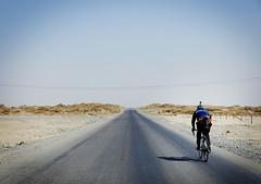 Rolling Xinjiang: Day Two (Factory Five) Tags: china trip sunset white mountain black bike bicycle landscape factory desert 5 five infinity horizon xinjiang custom rolling bespoke tianshan