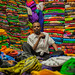 Salesman in his shop, Somaliland