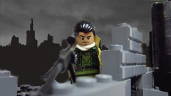 Ambush In The Streets: Birds Eye (Grimgorr) Tags: lego wwiii resistance brickarms