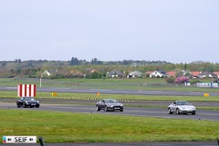 Aston martin DB9 + Porsche carerra 996 + GT3 Prestwick 2015 (seifracing) Tags: rescue cars st race honda mercedes scotland andrews nissan ferrari hospice voiture vehicles event mclaren porsche emergency runway spotting recovery strathclyde prestwick ecosse seifracing