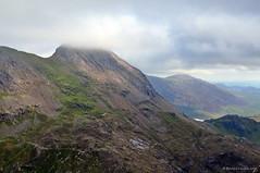 Crib Goch (agabarka) Tags: mountain wales clouds landscape snowdonia gwynedd d90 nikon90