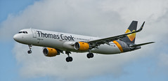 G-TCDJ (Jonathan93102) Tags: newcastle airbus ncl thomascook newcastleairport tcx airbusa321 egnt thomascookairlines sunnyheart gtcdj