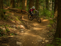 Shirley sweeping the berms (kendyck1) Tags: bc northshore mtb northvancouver expresso mountainbiking fromme