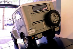 Toyota Land Cruiser Srie 2 FJ25 (seb !!!) Tags: auto old 2 terrain france cars wheel japan canon four japanese gris drive photo coach beige automobile all gr