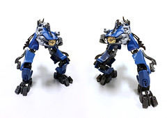 Tactically Gracile Drone (Ballom Nom Nom) Tags: bionicle lego robot cyclops drone