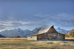 Moulton Barn Mormon Row (boysoccer3) Tags: moultonbarn mormonrow jacksonhole wyoming starvalley grandtetonnationalpark yellowstone tetons rural ruralbarn oldbarns