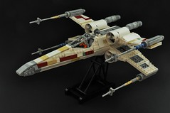 T-65 X-wing: V2 (1) (Inthert) Tags: lego t65 fighter sfoils x wing star wars ship moc rebel rogue squadron astromech incom red5 r2d2 luke skywalker